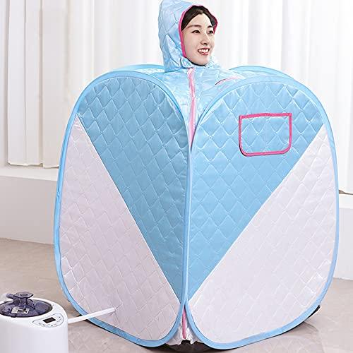 Spa Dampfsauna Maschine - Portable Dampfsauna Für Zuhause - 360 ° Ganzkörper-HeißluftzirkulationMini Therapie Body Heater für Abnehmen, Müdigkeit Reduzieren, Feuchtigkeit Und Schönheit