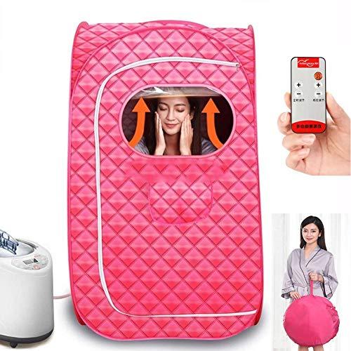 CTEGOOD Infrarot Sauna Tragbare Heizung Heimsauna Wärmekabine Komplett geschlossene Sauna mit Fernbedienung für Gewichtsverlust Stress Müdigkeit